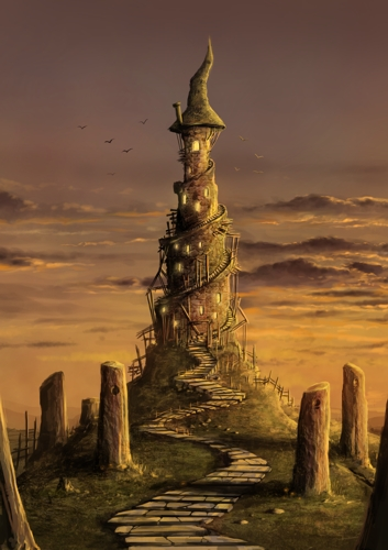 """""""The Rickety Tower,"""" by Jeremiah Morelli"""