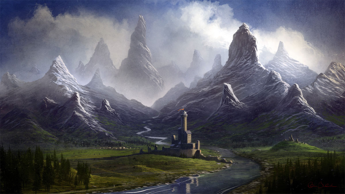 """""""Twisted Mountain Valley"""" by Christopher Balaskas"""