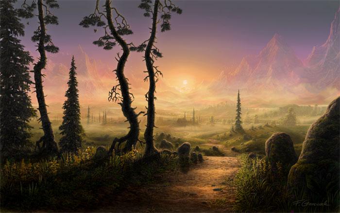 """""""Sundown"""" by Feliks Grzesiczek"""