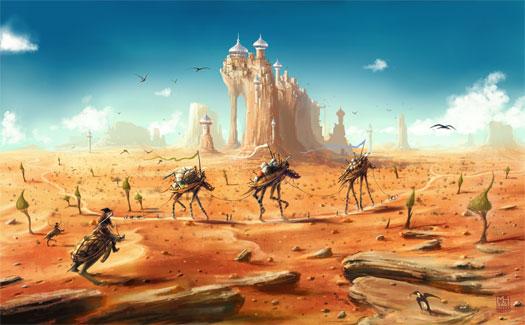 """""""Tortoise Caravan"""" by Marek Hlavaty"""
