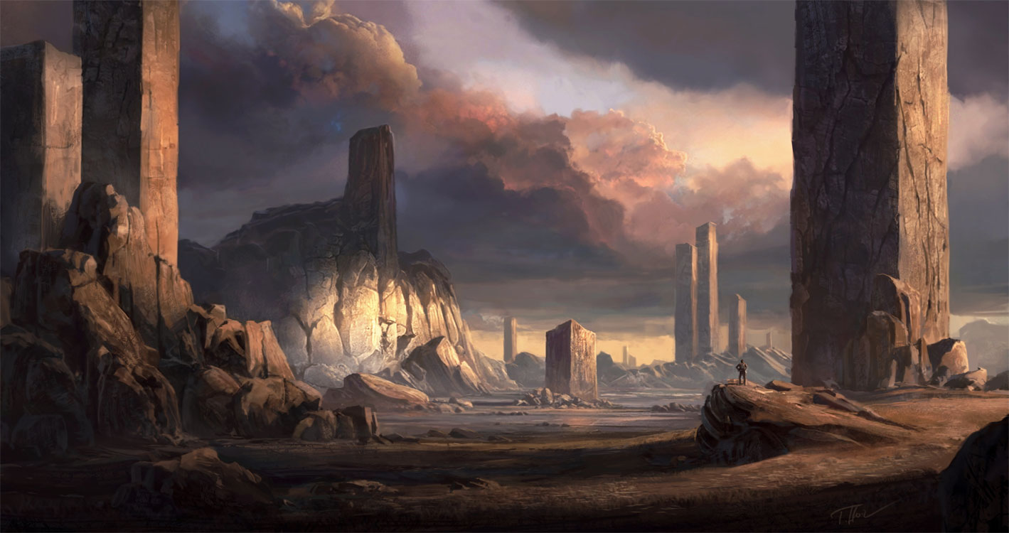 """Pillars"" by Tomas Honz"