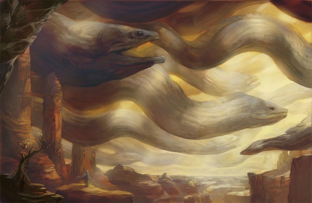 """""""Migration"""" by Julie Dillon"""
