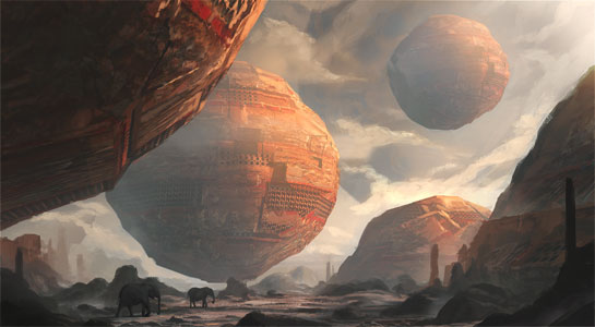 """""""Plains of Another World"""" by Leon Tukker"""